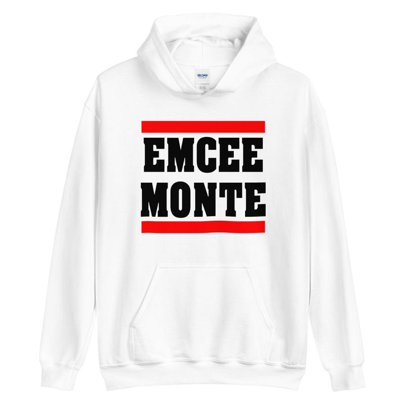 Emcee Monte Classic Logo Hoodie White