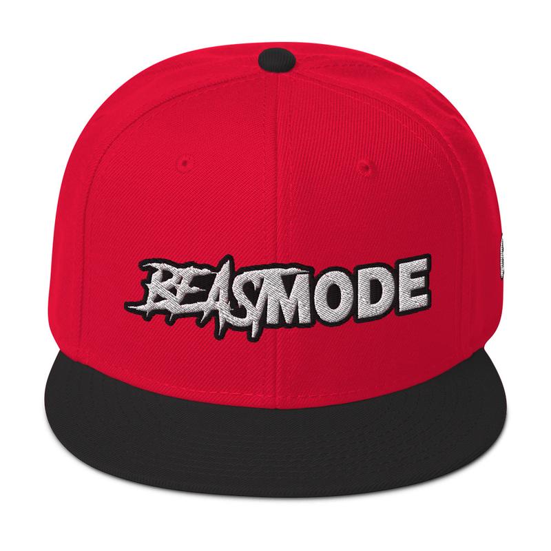 Beastmode Snapback Hat (GRE logo on left side)