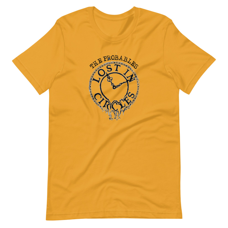 Lost in Circles Graphic Unisex T-Shirt
