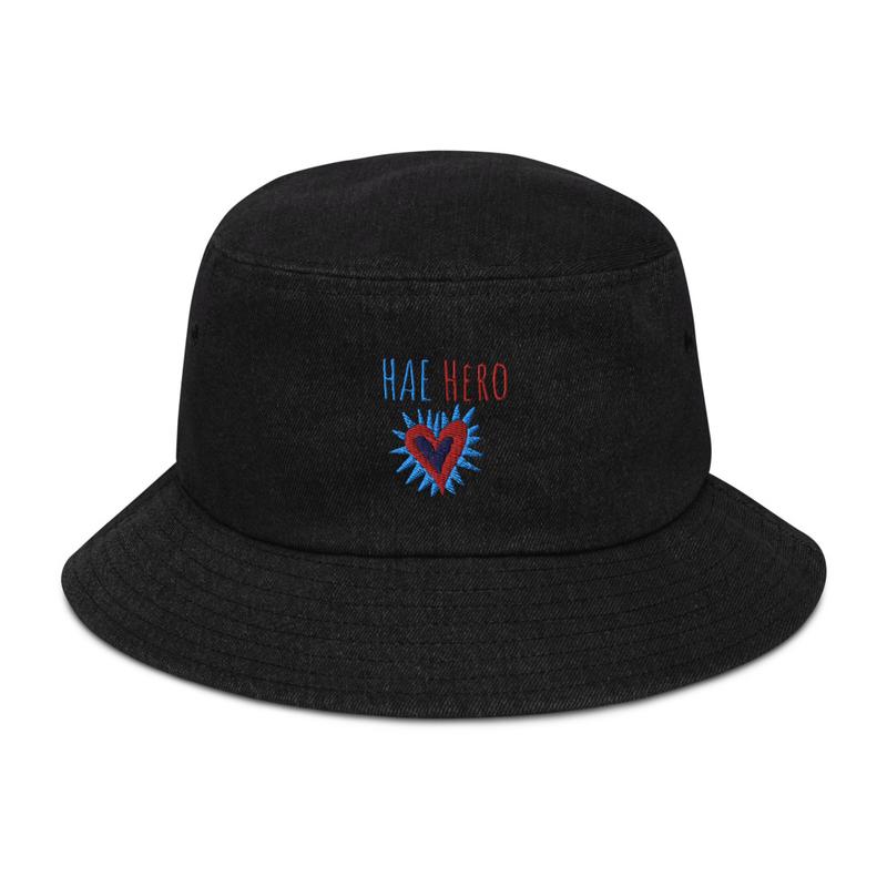 Apparel - HAE Hero Denim bucket hat