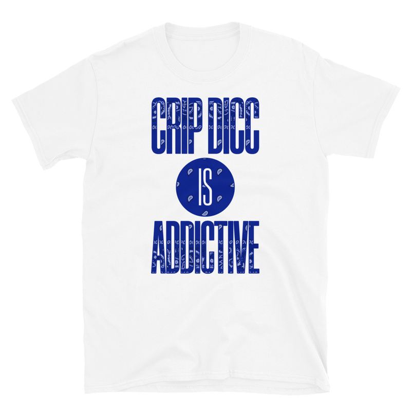 Crip Dicc Short-Sleeve Unisex T-Shirt