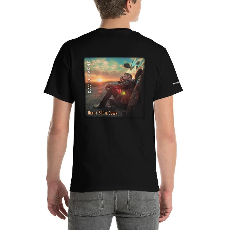 Short Sleeve T-Shirt - Heart Break Down
