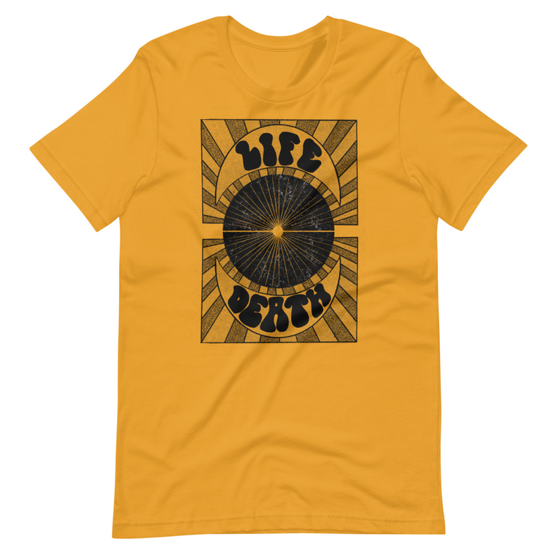 Life or Death Unisex Tee - Gold