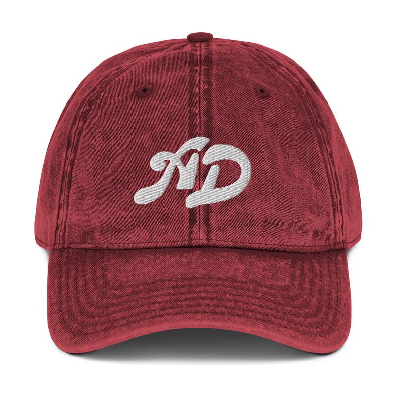 AD Vintage Cotton Twill Cap
