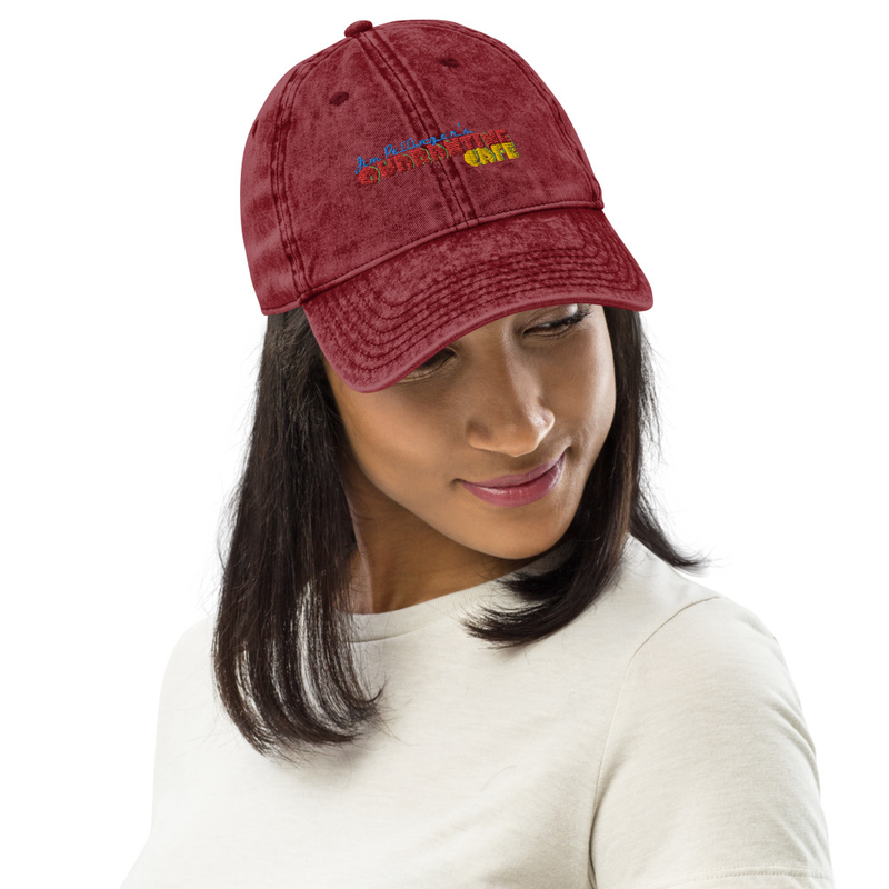 JPQC Vintage Cotton Twill Cap