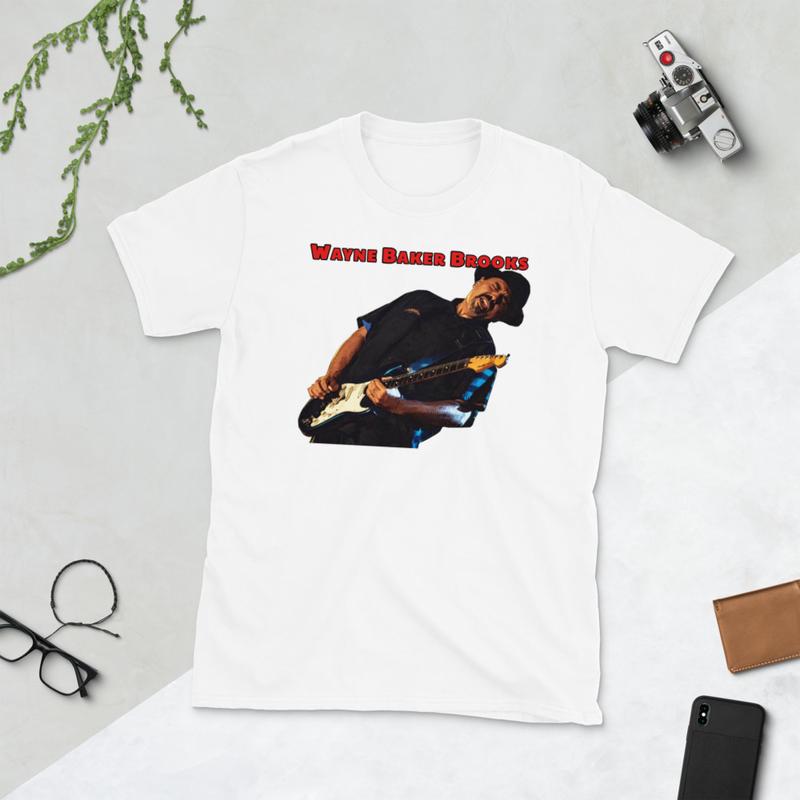 Wayne Baker Brooks Short-Sleeve Unisex T-Shirt 2