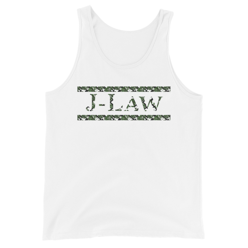 J-Law Leaf Tank Unisex Tank