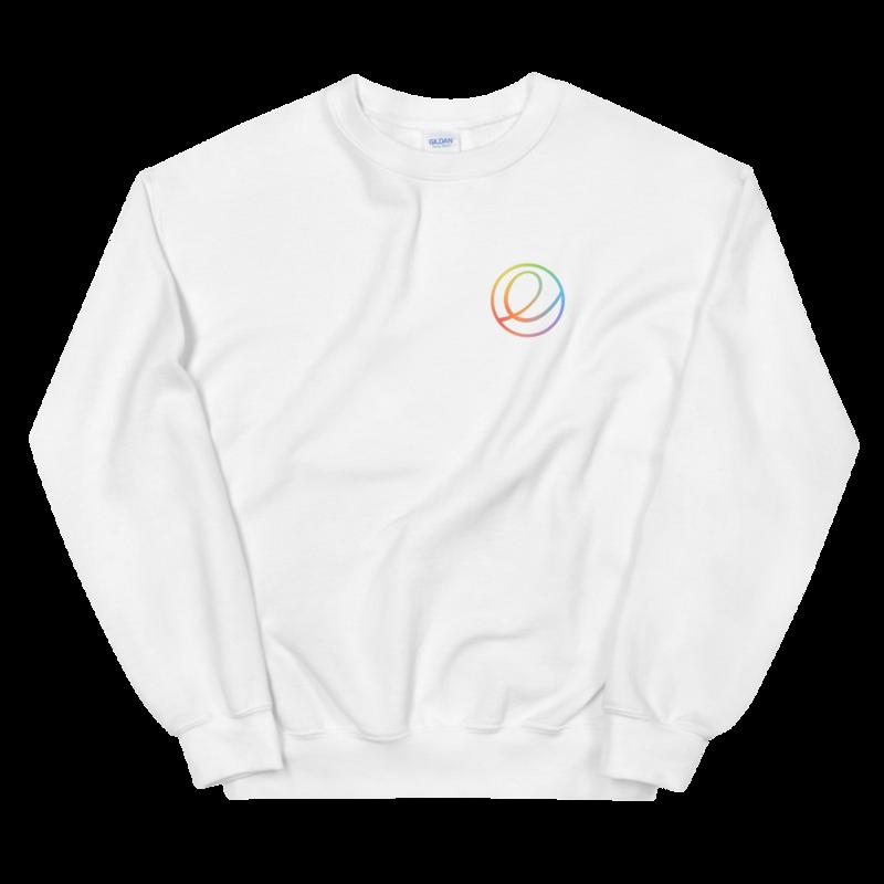 Rainbow Logomark Pullover - Unisex (Seasonal)