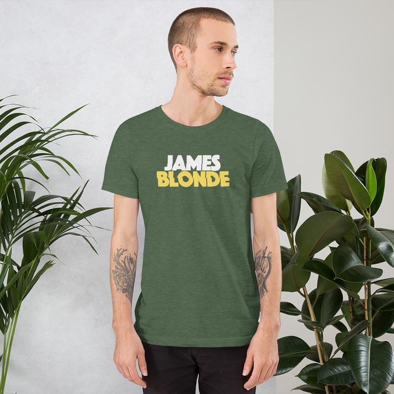 James Blonde Logo Tee