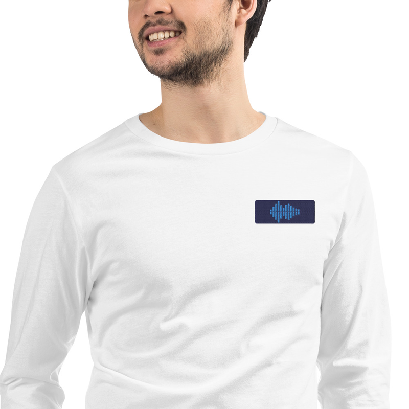 Long sleeve shirt Waves unisex