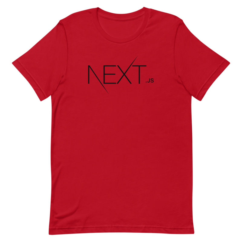 Red / S Next.js T-Shirt
