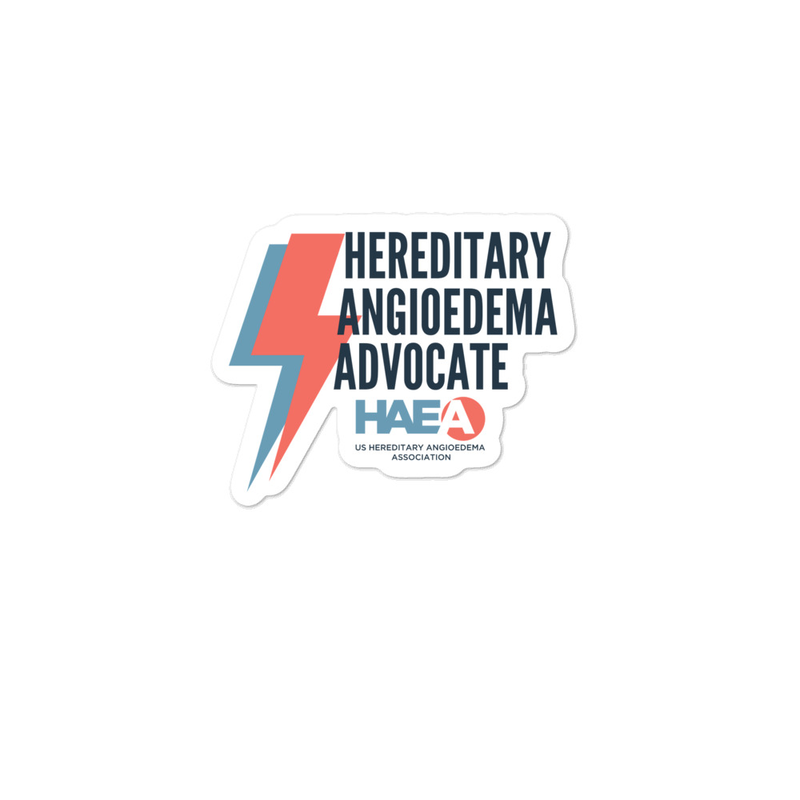 Accessories - HAE Advocate Sticker