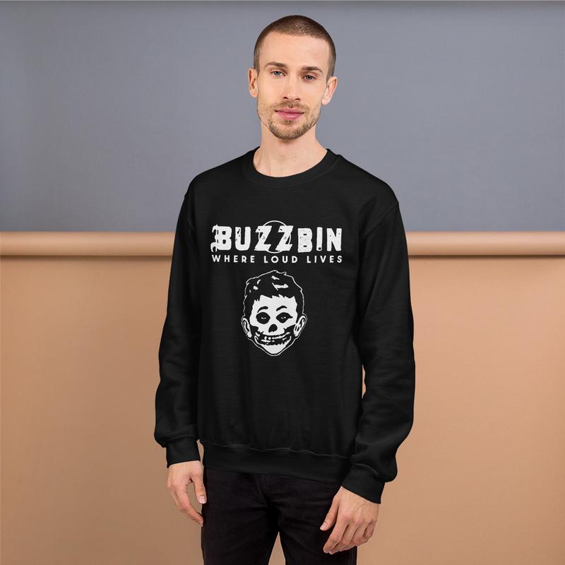 Buzzbin Mad Misfit Unisex Sweatshirt