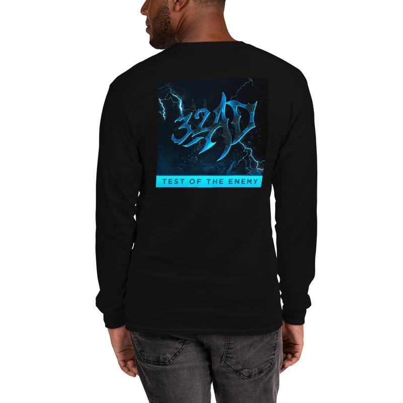 32AD - Men's Long Sleeve Shirt (TotE Art - Backside)