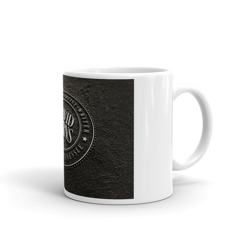 White glossy mug - Metal Logo