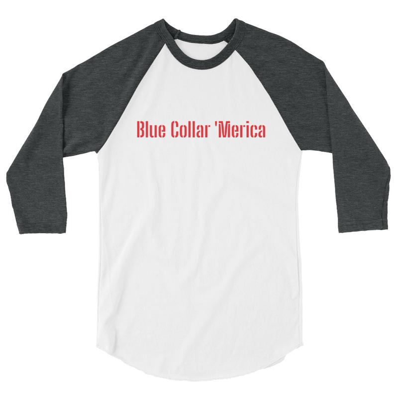 BCA Baseball Tee (Blue Sleeves)