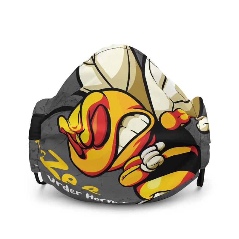 MC Zee Murder Hornets Premium face mask