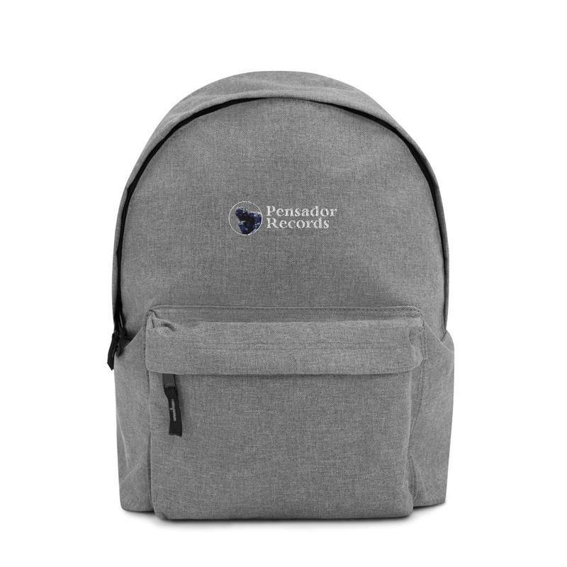 Mochila Pensador Records Logo - Embroidered Backpack