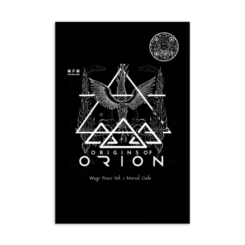 Origins Of Orion Wage Peace Vol. 1 Mortal Gods Standard Postcard