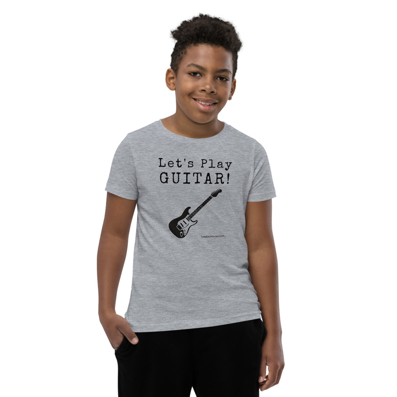 Let's Play Guitar- Youth Tee