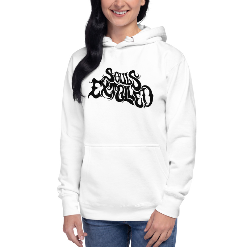 Follow the Ghosts Premium Throwback Hoody - Double Sided - Front Logo, Back Album Cover