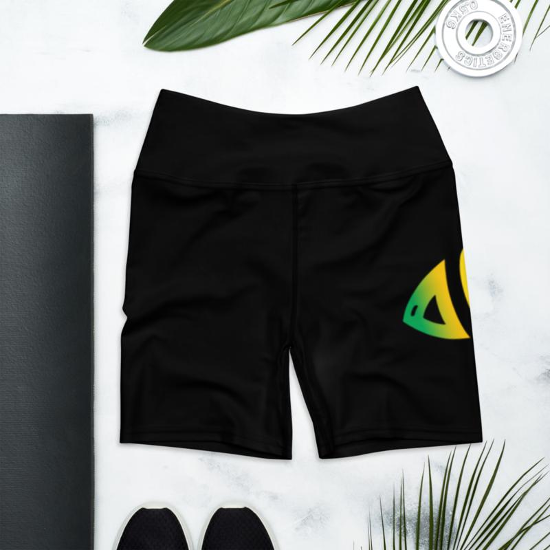 DF Logo Yoga Shorts