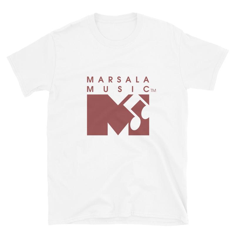 Marsala Music T-shirt (Unisex)