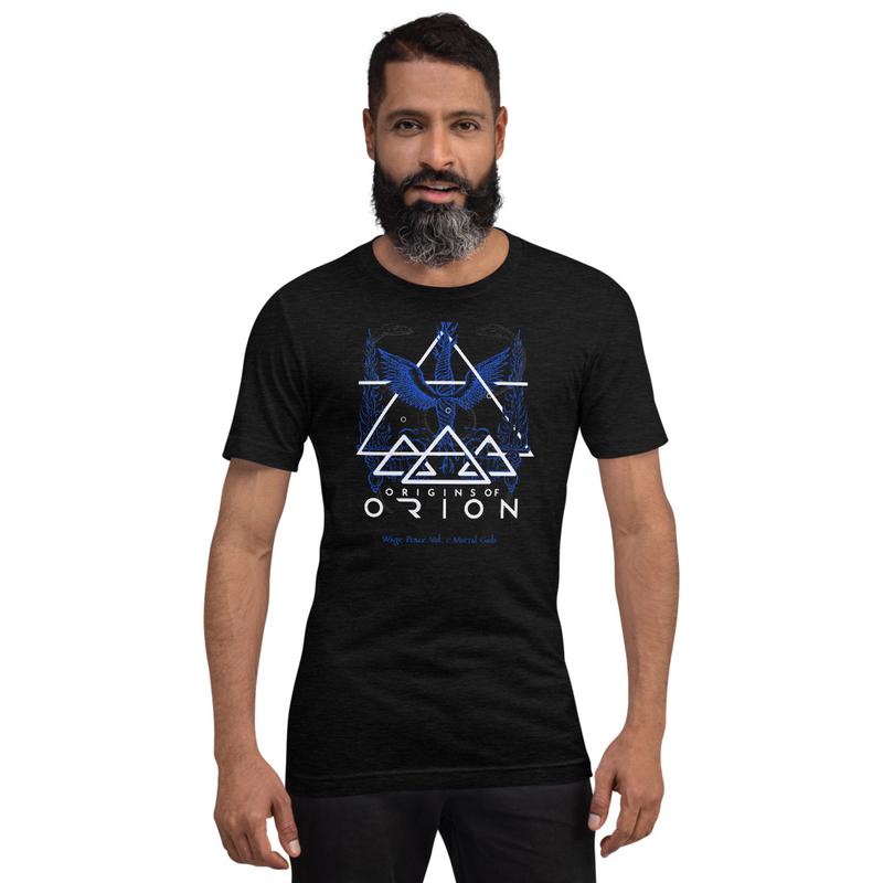 Blue Short-Sleeve Unisex Sacrifice T-Shirt