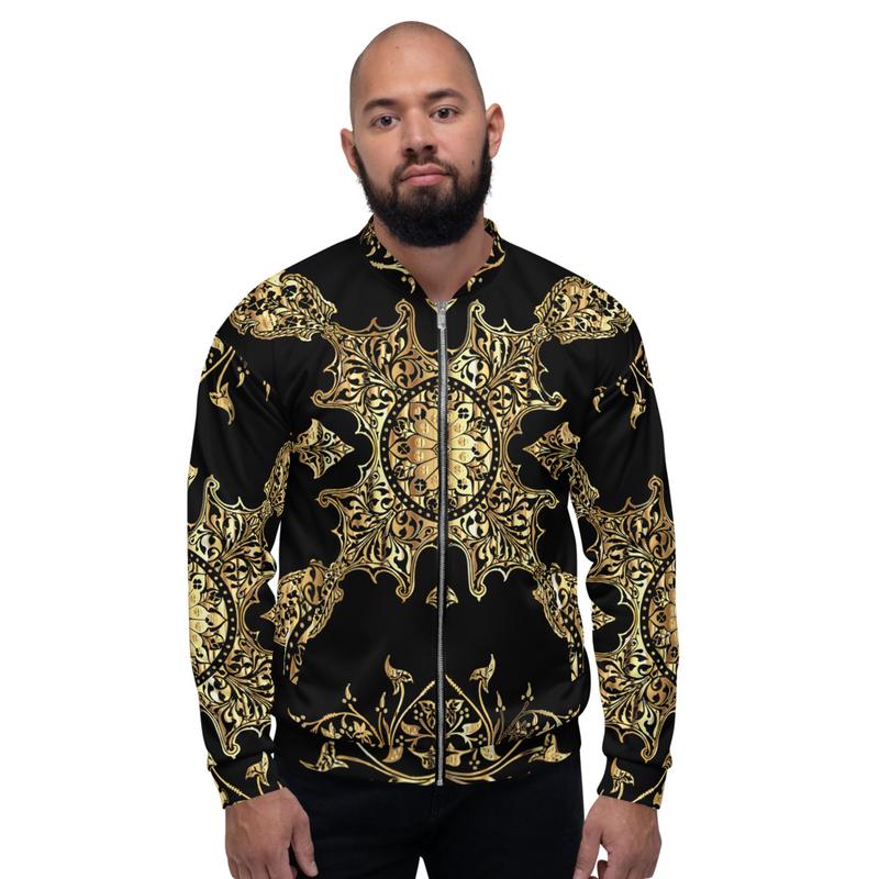 Casanova Black Excellence Unisex Bomber Jacket