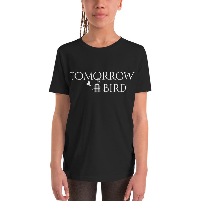 """""""WHITE LOGO"""" Childrens Short Sleeve T-Shirt"""