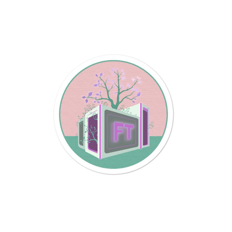 TreeVee Lavender sticker
