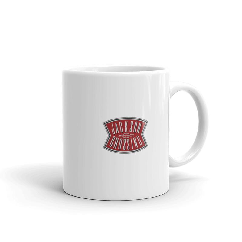 White Logo Mug