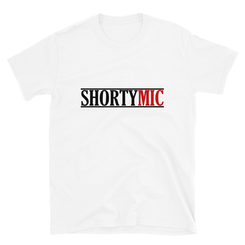 Shorty Mic, T-Shirt, White