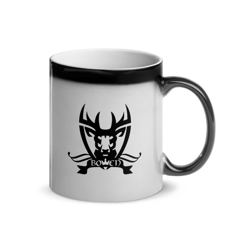 BOWEN Stag Logo Glossy Magic Mug