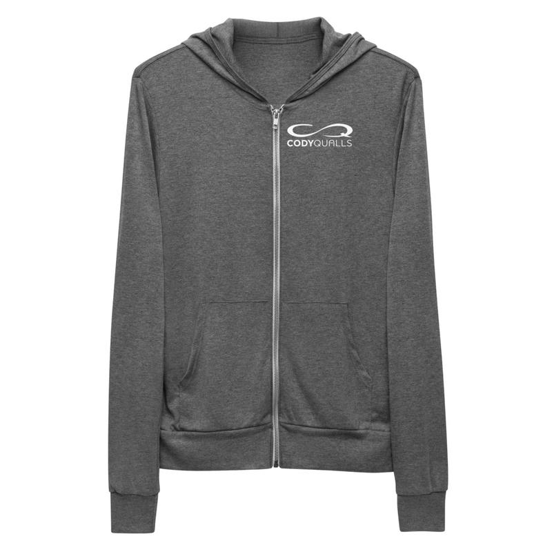 CQ Unisex zip hoodie