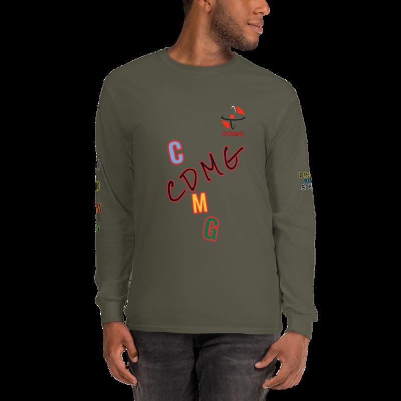 CDMG Custom Edition Men's Long Sleeve ShirT 7 colors