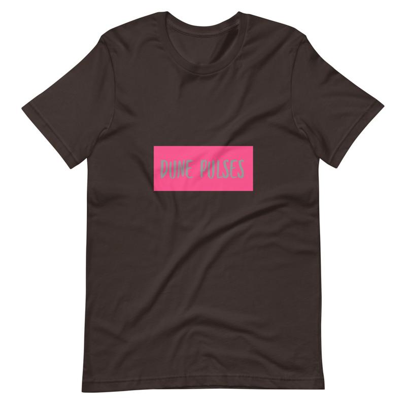Short-Sleeve Unisex T-Shirt (Dune Pulses - Neon)