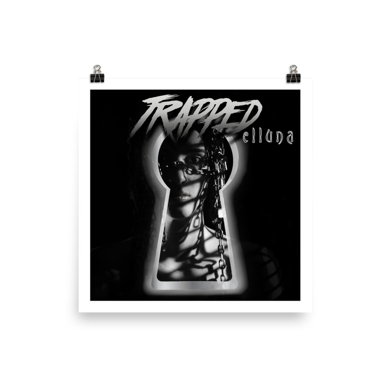 """""""Trapped"""" Artwork Poster"""