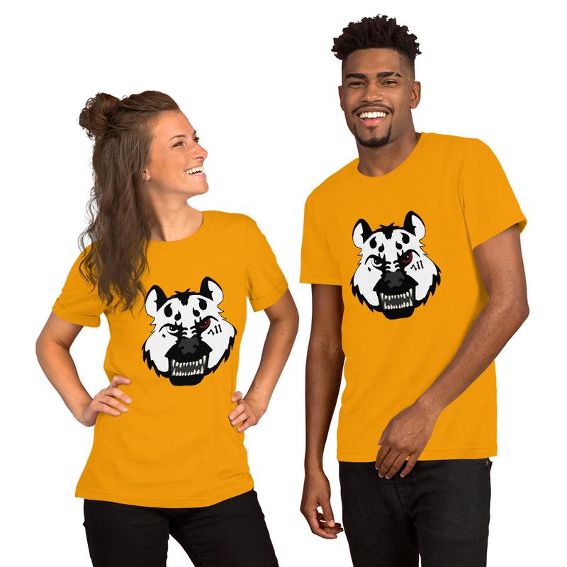 Hyena Gang White Face T Shirt