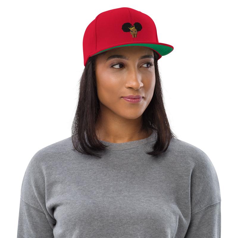 Princess Melanin Snapback Hat