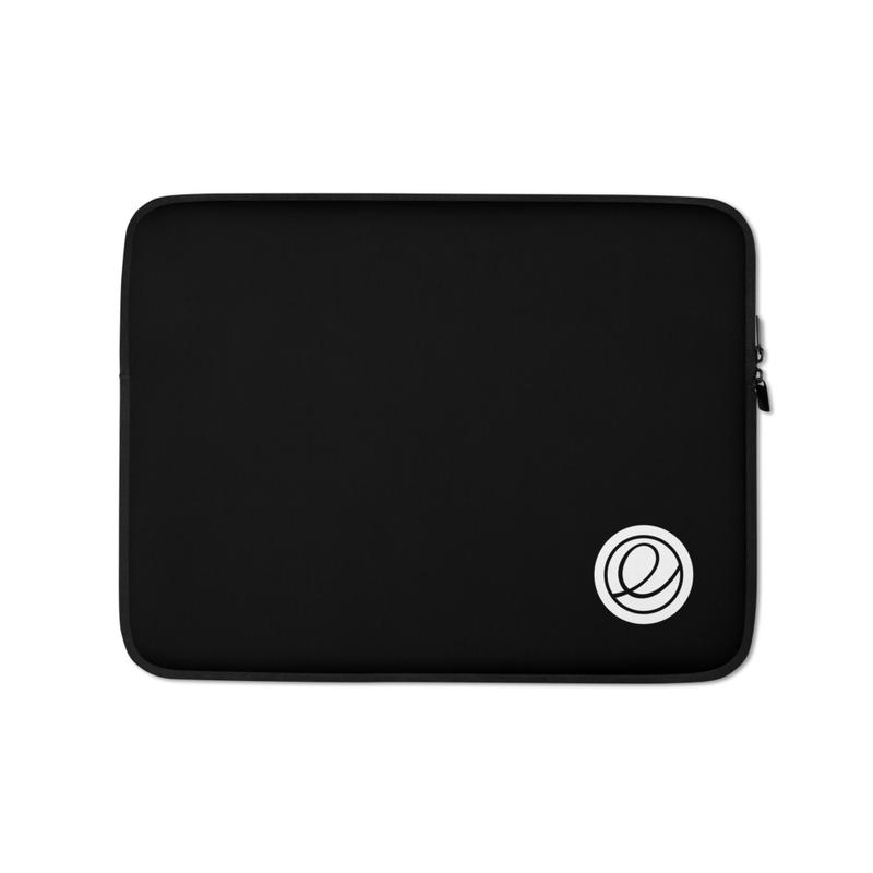 Logomark Laptop Sleeve – Black