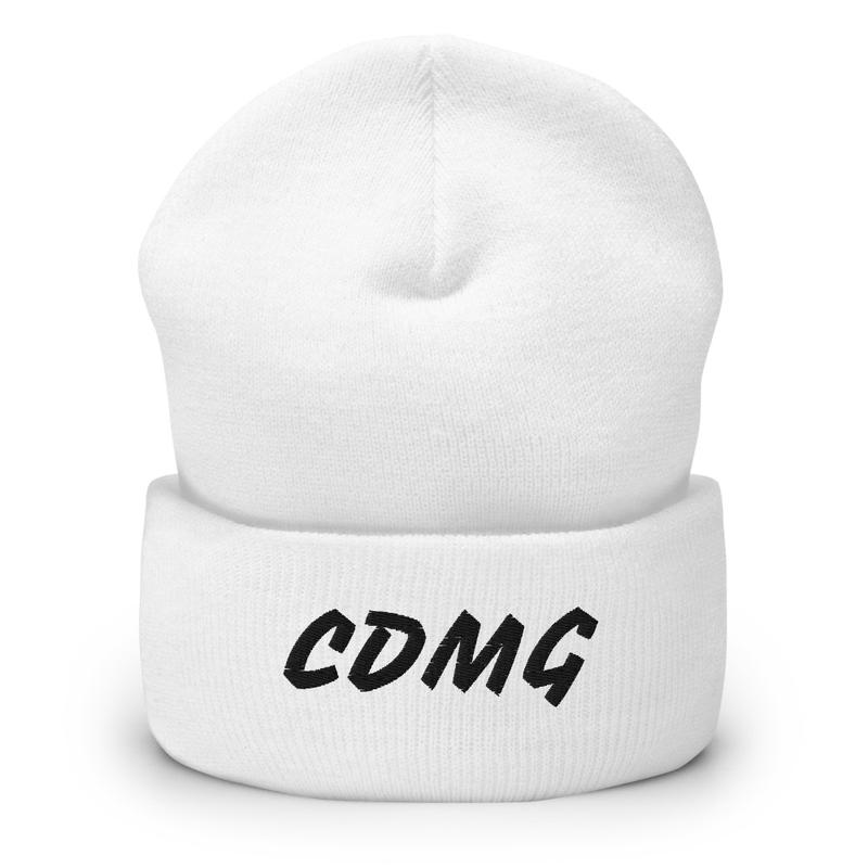 CDMG Cuffed Beanie Red/White/Gray