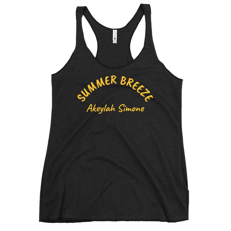 Summer Breeze Women's Racerback Tank
