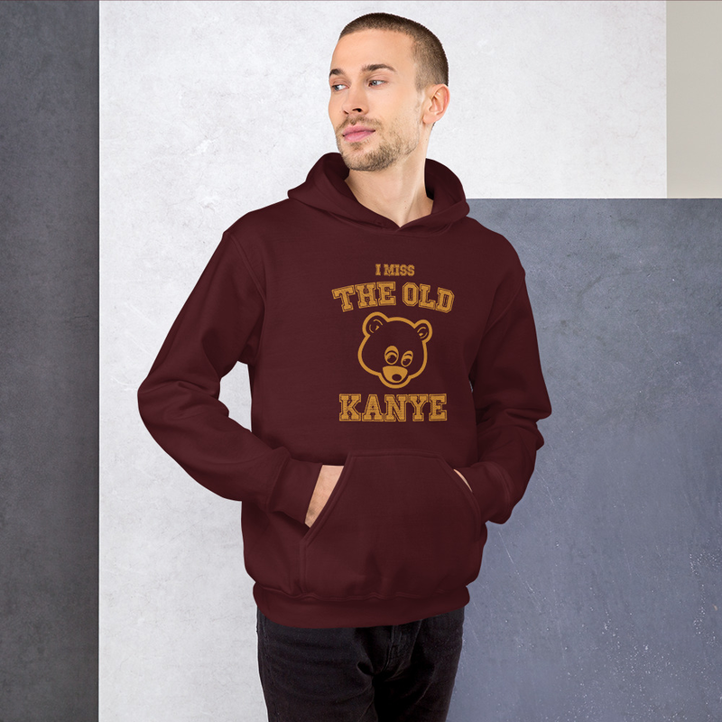 """Hoodie """"I miss the old Kanye"""" (4 colors)"""