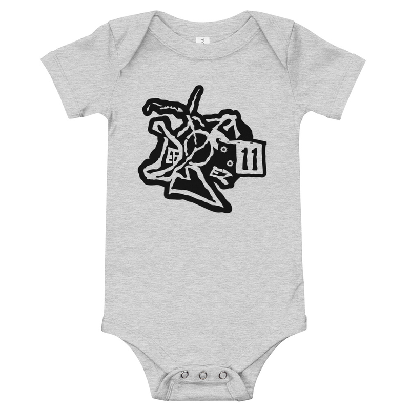 Baby short sleeve one piece DEFBOY PRODUCTIONS LLC