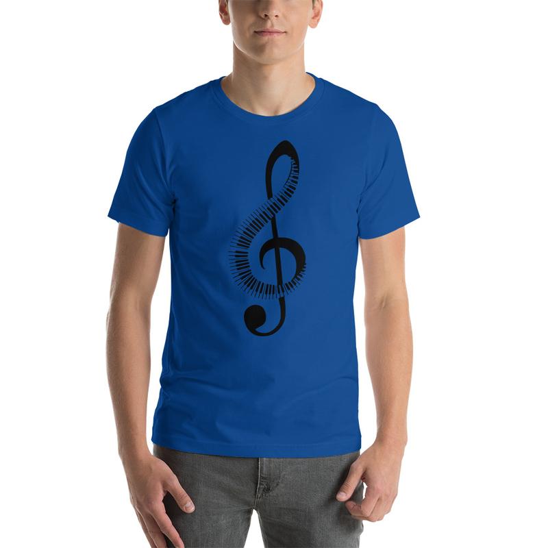 Casanova Music Note Short-Sleeve Unisex T-Shirt