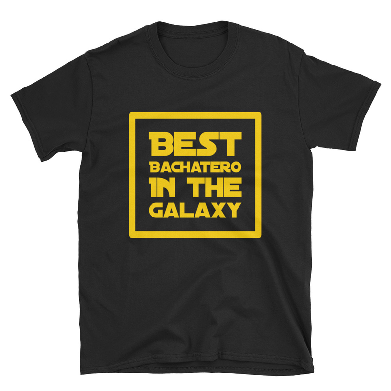 Best Bachatero in The Galaxy T-Shirt for Men