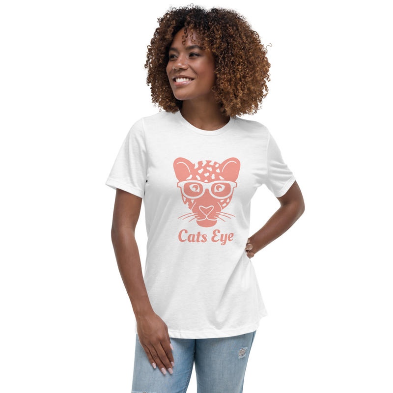 Women's Cats Eye Relaxed T-Shirt By The Natural
