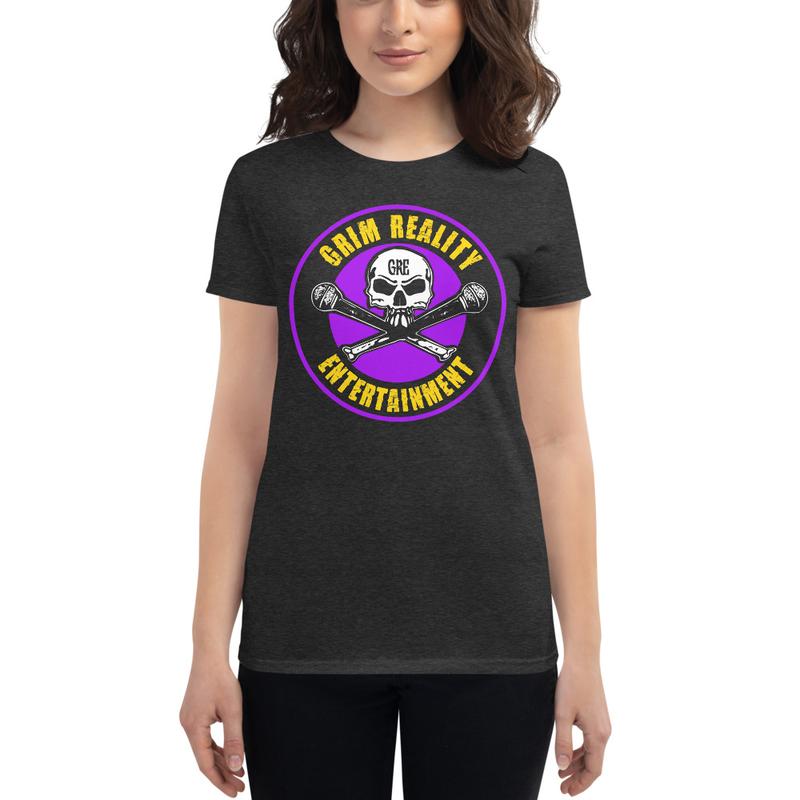 Women's Purple & Gold GRE Logo Shirt