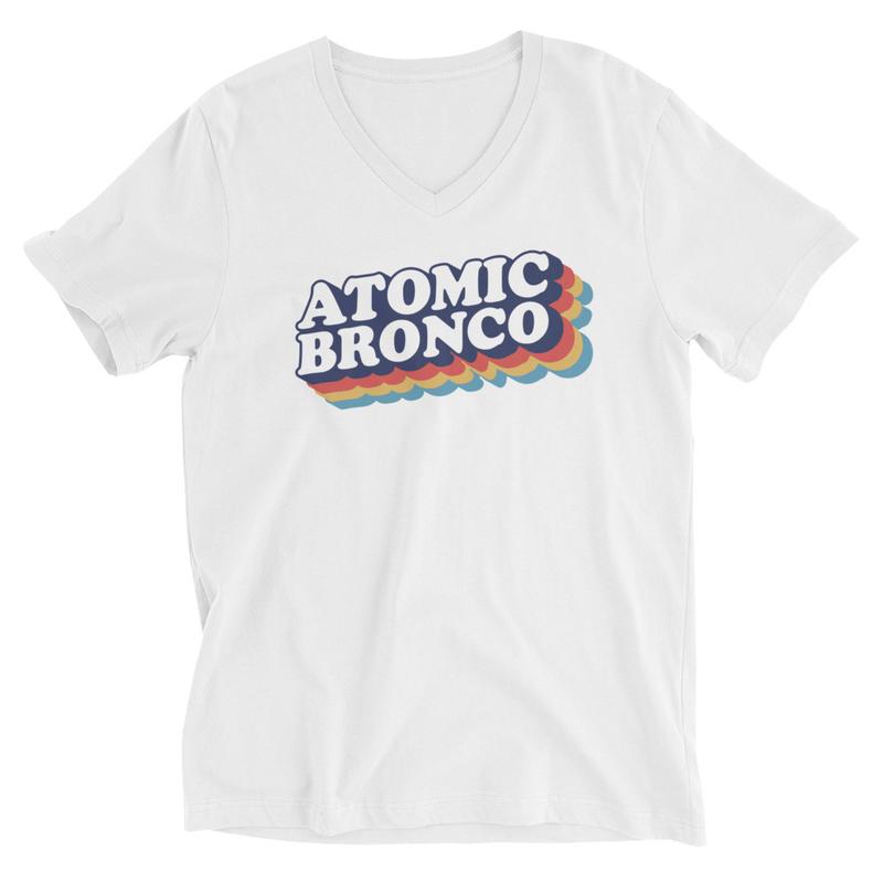 Atomic Bronco Color Logo V-Neck